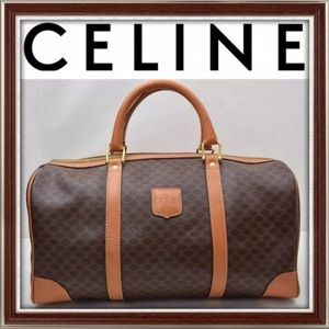 Authentic Celine Macadam travel bag